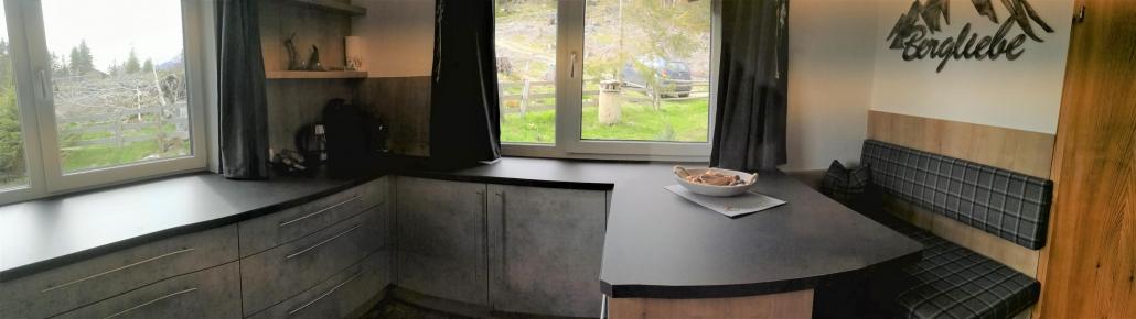 top ausgestattete Küche